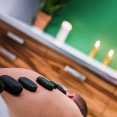 kamienie masaż